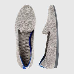 NEW Rothy's Taupe Heather Gray Loafer Shoes